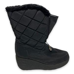 London Fog Jump Wedge Snow Boots Size 6.5